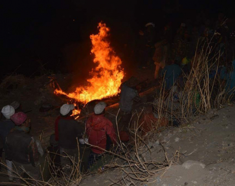 11 houses gutted in fire in Humla