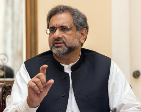 Pakistani PM Abbasi arriving on Monday