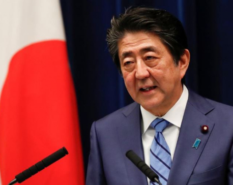 Japan continues to prepare for Olympics, PM Abe says