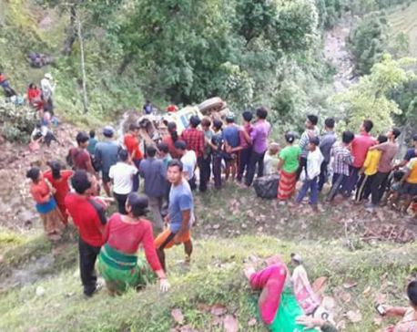 Dhading bus plunge kills four, 25 injured (update)