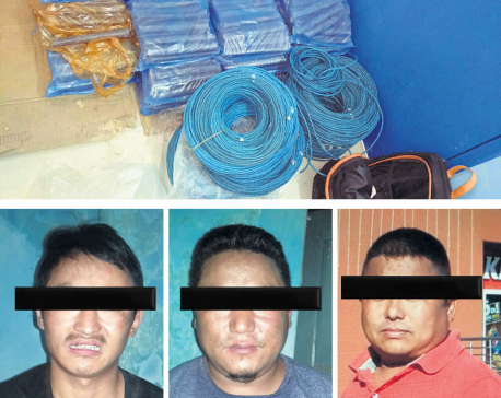 Six Nepalis arrested for transporting explosives from India