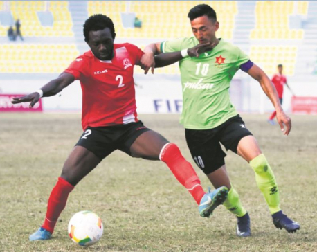 Army goes top, APF loses in six-goal thriller