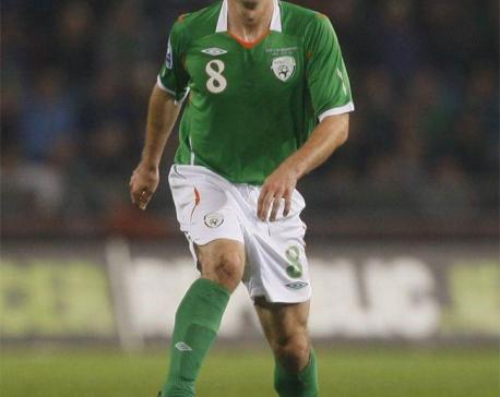 Former Ireland midfielder Miller dies aged 36