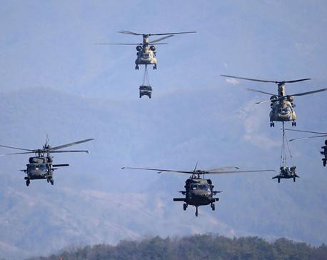South Korea, U.S. launch aerial drills amid North Korean warnings of nuclear war
