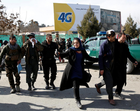 Scores killed, wounded in ambulance blast in Afghan capital Kabul (Update)