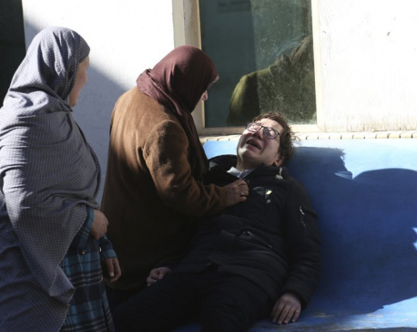 Attackers storm Shiite cultural center in Kabul, 35 killed
