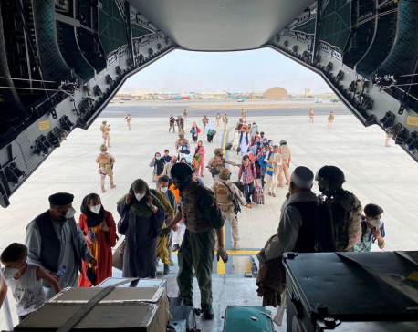 Over 18,000 people evacuated since Sunday from Kabul airport-NATO official