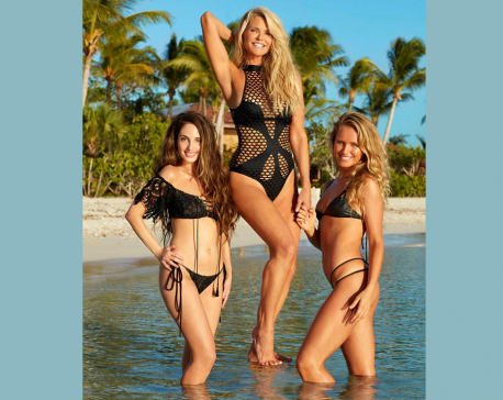 When sexagenarian posed for steamy Sports Illustrated Swimsuit Issue …