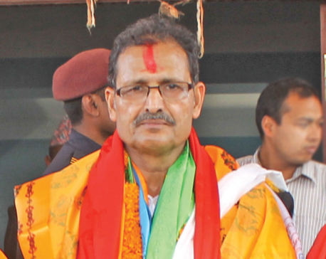NCP names Agni Sapkota as its candidate for new speaker