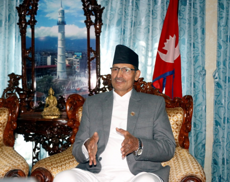 Speaker Sapkota declares himself independent