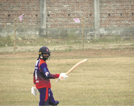 All-round Airee secures Nepal Police Club's semifinal berth