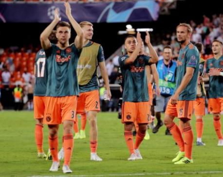 UEFA bans Ajax fans for Champions League trip to Chelsea