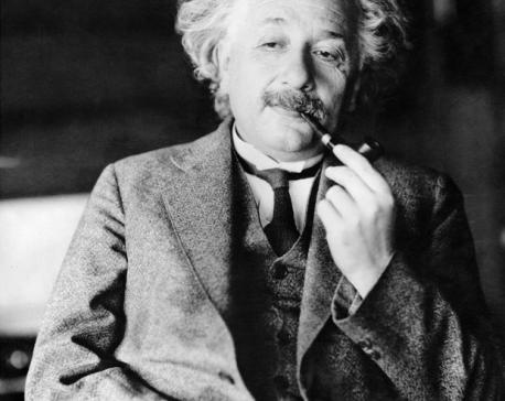 $1.3M auction bid buys Albert Einstein's theory of happiness