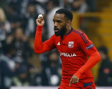 Olympique Lyon shares boosted by sale of Lacazette to Arsenal