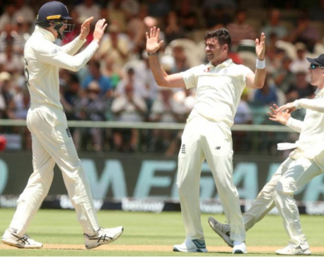 Record-breaker Anderson loves the hard graft of test cricket