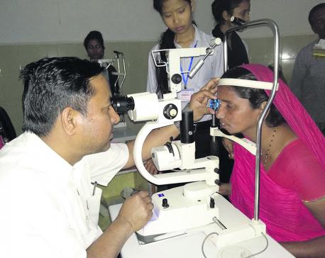 Glaucoma patients increasing