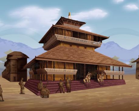 ShankhadharYaa Baakha first animated Nepali movie screened in Kathmandu