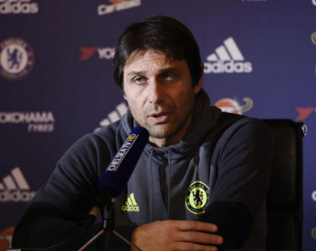 Festive fixtures complaints due to Chelsea form: Conte