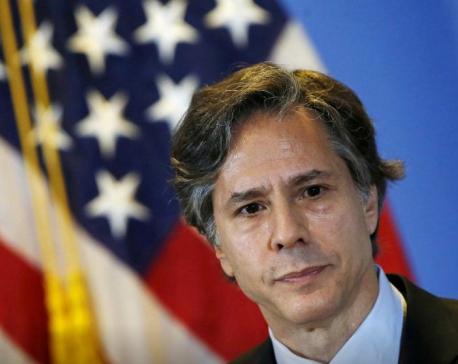 US Secretary of State Blinken congratulates PM Deuba, discusses matters of bilateral interests