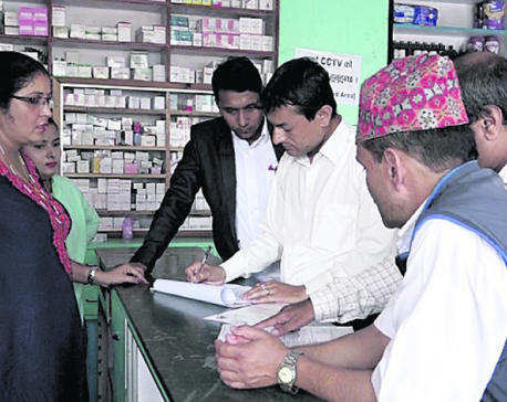 Market monitoring team springs into action in Pokhara