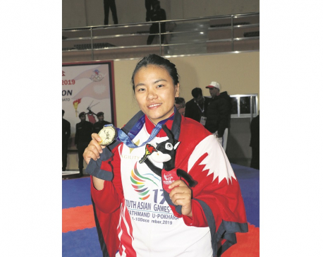 Nepal's karate gold tally reaches 10 on final day