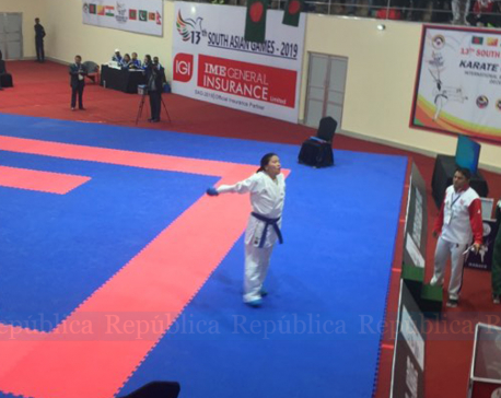 Another gold for Nepal, Anupama Magar wins in karate