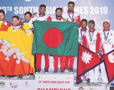 B'desh bags six golds in archery, Nepal wins a silver