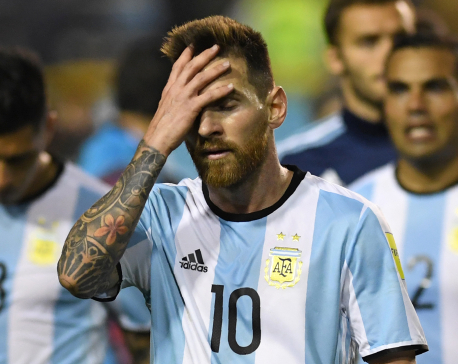 Messi's Argentina in a slimmer hope for the World Cup