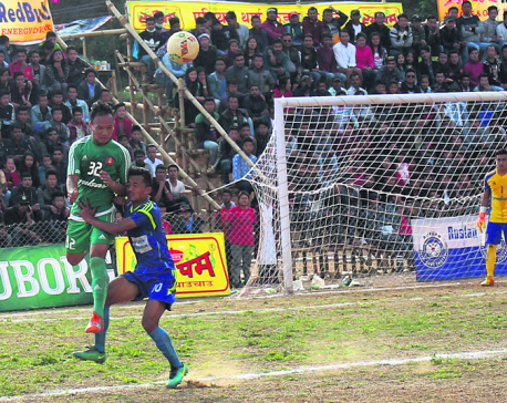 Army into Mai Valley Gold Cup final