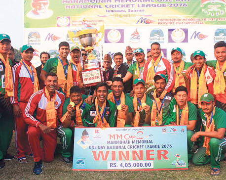 Bhari, bowlers lead Army to MM title