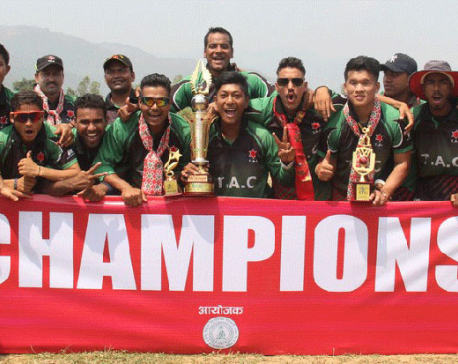 Tribhuvan Army Club lifts Karnali Premier League