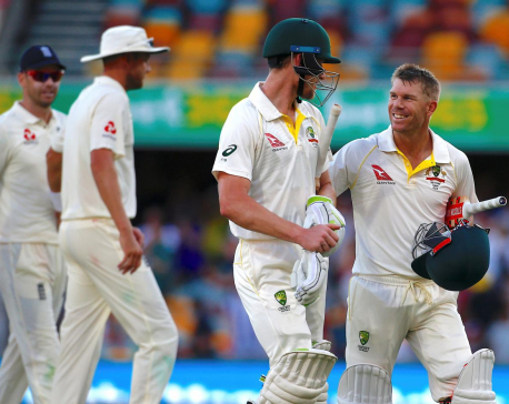 Australia coast to 10-wicket victory in Ashes opener