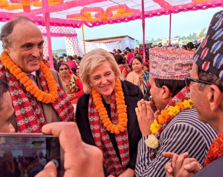 Minister Dhakal, Princess Astrid of Belgium jointly inaugurate tuberculosis center in Kailali