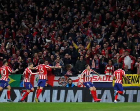 Atletico edge Liverpool with vintage defensive display