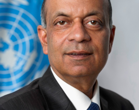 Foreign Minister Khadka meets Under Secretary General Khare
