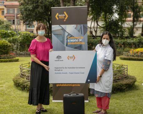 Australia provides medical equipment worth Rs 4.1 million to TU Teaching Hospital
