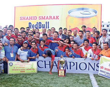 Shree Bhagawati, Jhamsikhel earn promotion to B Division