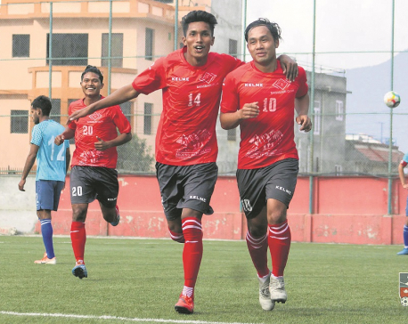 Bansbari climbs on top of the B-Division league