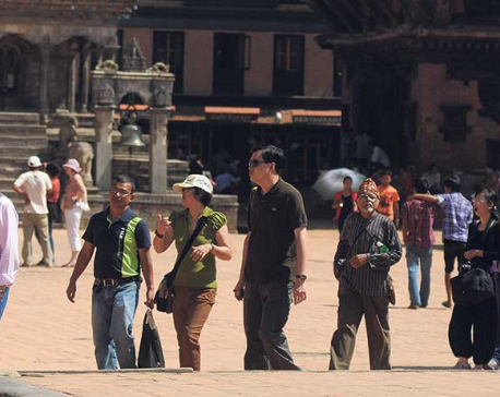 Bhaktapur attracts most tourists among Ktm Valley's Durbar Squares