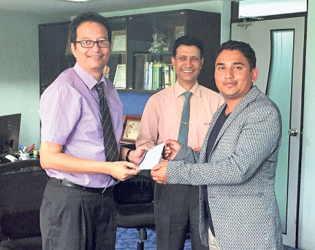 Bank of Kathmandu helps Dhurmus Suntali Foundation