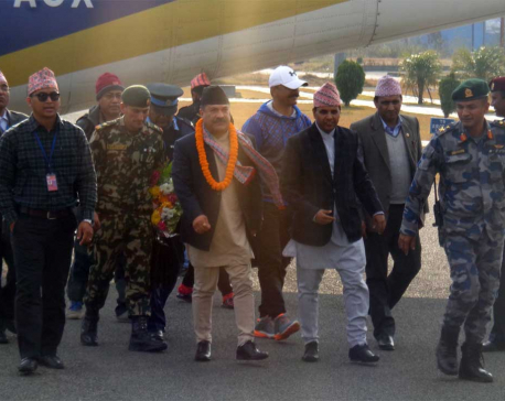 Province Chief Kunwar welcomed in Pokhara