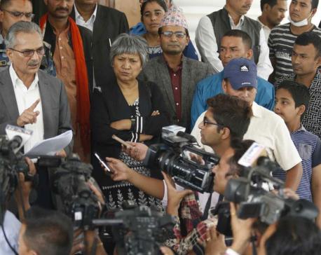 Bhattarai hands over memorandum to PM Deuba