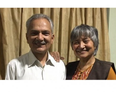 Ex-PM Babraum Bhattarai, his spouse Hisila Yami test positive for coronavirus