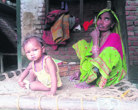 Hunger and diseases further victimize flood victims