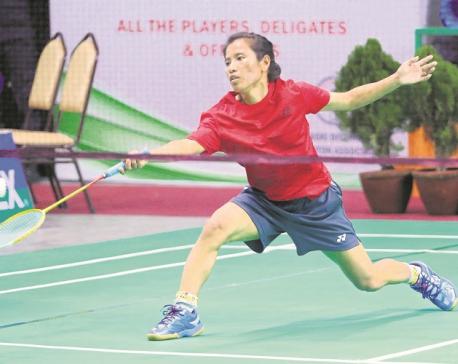 Nepal into badminton team event semis