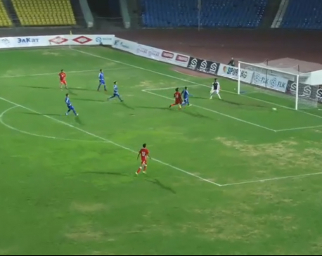 Nepal loses to Bahrain  4-0 in AFC U-19 C'ship Qualifiers