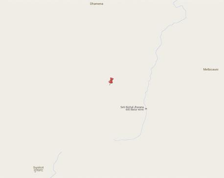 Earthquake rocks Bajhang twice this morning