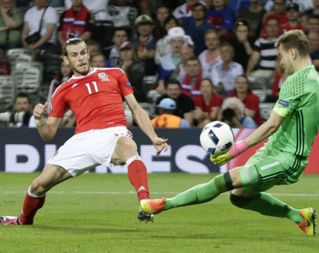 Bale makes it 3 goals in 3 games as Wales wins group