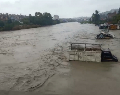 385 houses inundated by flood in Kathmandu Valley, 232 people rescued