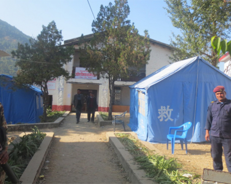 Security challenge to ballot boxes in Rolpa